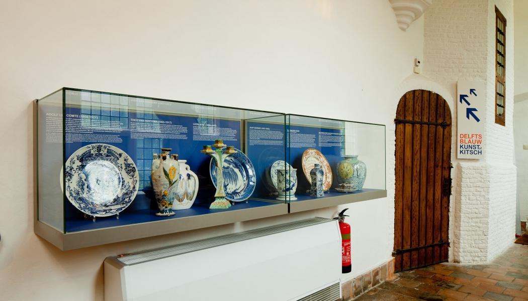 Vitrine individuelle Museum Glaskuppel staub-