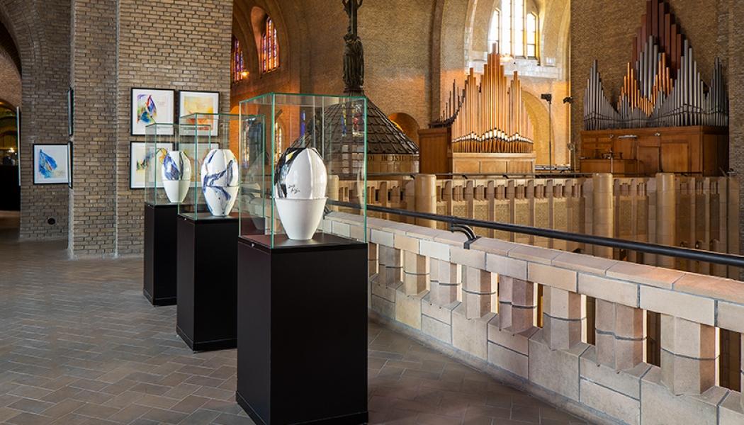 Vitrinen Museumsvitrinen maßgeschneiderte Glocke
